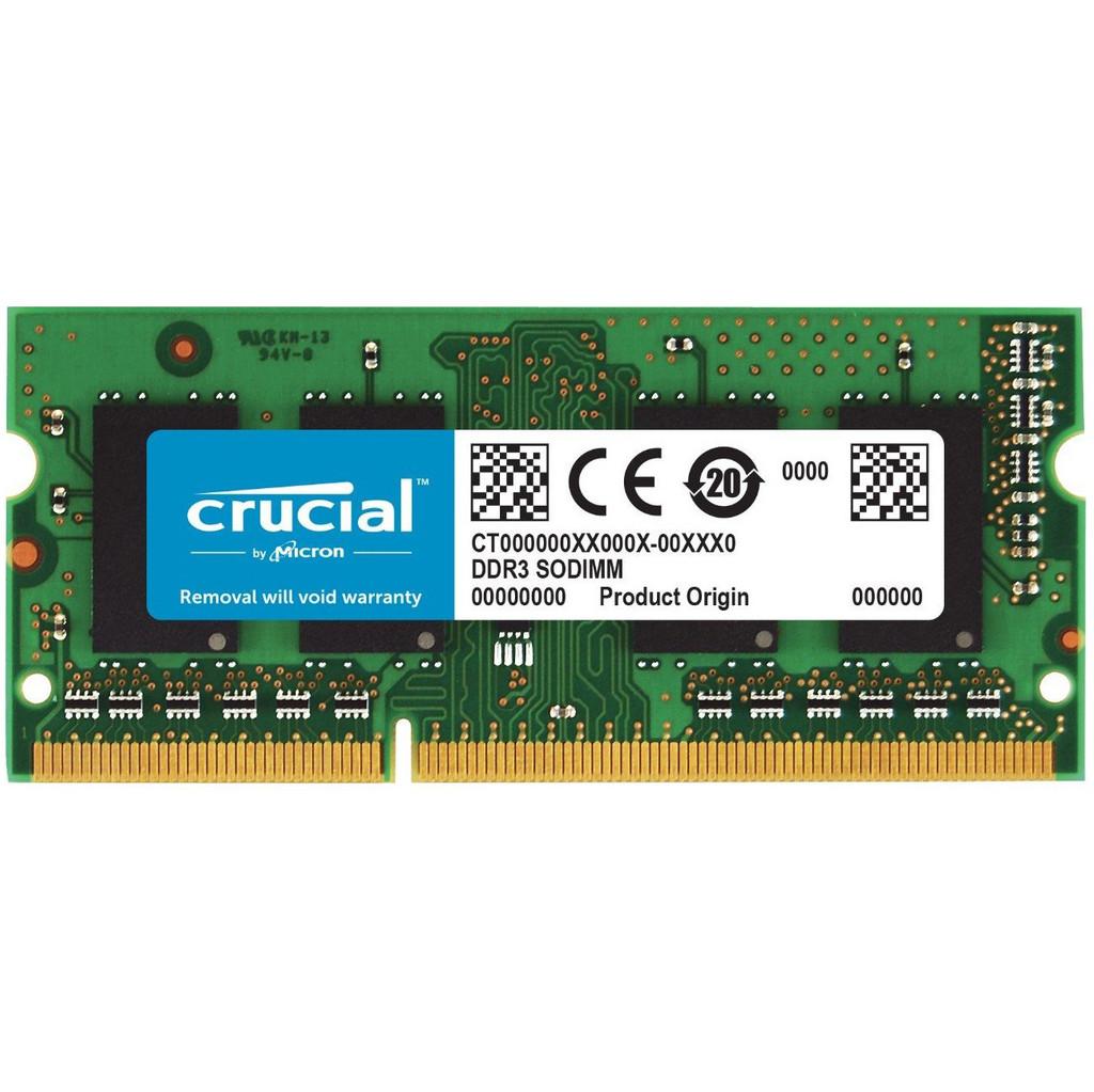 Crucial Apple 8GB DDR3L SODIMM 1866 MHz (1x8GB)