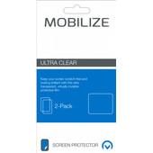 Mobilize Protège-écran en Plastique Avant et Arrière Apple iPhone X