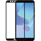 Azuri Verre Trempé Huawei Y6 (2018) Protège-écran Verre Noir