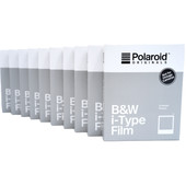 Polaroid Originals B&W Instant Fotopapier i-Type (10x 8 stuks)