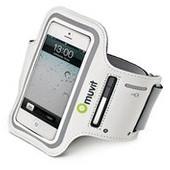 Muvit Sportarmband Apple iPhone 5 / 5S Wit