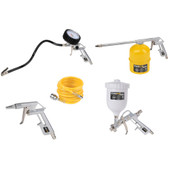 Powerplus Set Outils pneumatiques (5 pièces)
