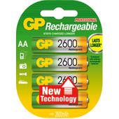 GP AA NiMH 2600 4-pack