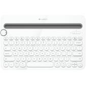 Logitech Multi Device Toetsenbord K480 Wit QWERTY