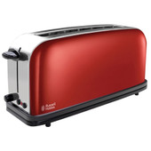 Russell Hobbs Colours Long Slot Rouge