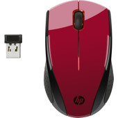 HP Wireless Mouse X3000 Rood