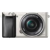 Sony Alpha A6000 Silver + PZ 16-50mm OSS