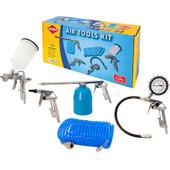 AirpressSet d'outils pneumatiques Euro (5 pièces)