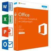 Microsoft Office Thuisgebruik en Zelfstandigen 2016 FR
