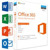 Microsoft Office 365 Home 1 jaar abonnement NL