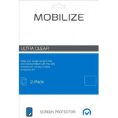 Mobilize Protège-écran en Plastique pour Asus Zenfone 4 Selfie Lot de 2