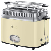 Russell Hobbs Retro Vintage Crème Grille-pain