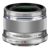 Olympus M.Zuiko Digital ED 25 mm f/1.8 Argent