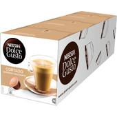 Dolce Gusto Cortado Espresso Macchiato lot de 3
