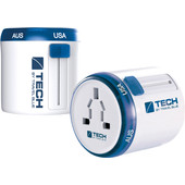 Travel Blue Twist & Slide Wereld Adapter - Europa