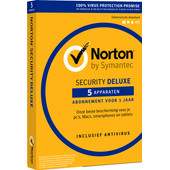 Norton Security Deluxe 2018 | 5 Apparaten | 1 Jaar