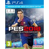 Pro Evolution Soccer 2018 Édition Premium PS4