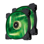 Corsair SP140 High Static Pressure Edition Green LED 2 Pack