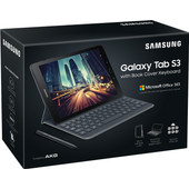 Samsung Galaxy Tab S3 WiFi Black + Keyboard cover + MS Office 365 Personal