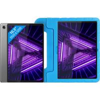 Lenovo Smart Tab M10 Plus (2de generatie) 128 GB Wifi Grijs + Just in Case Kinderhoes