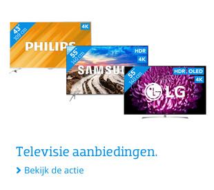 Televisie aanbiedingen