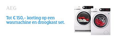 Wasmachine-Droogkasten Sets