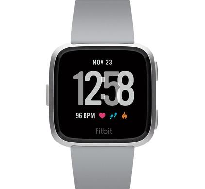 Fitbit Versa Gray/Silver Aluminum
