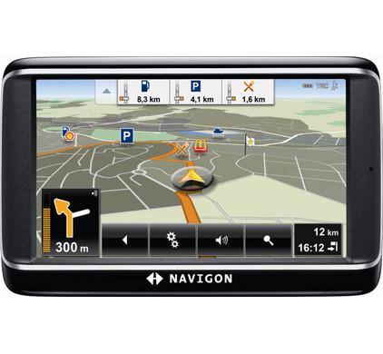 Navigon 40 Plus + Tas + Thuislader + Dashboard Donut