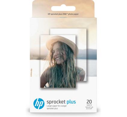 HP ZINK Fotopapier voor Sprocket Plus 20 vel