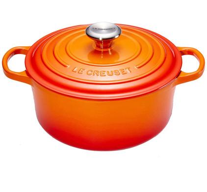 Le Creuset Ronde Braadpan 20 cm Oranje-rood