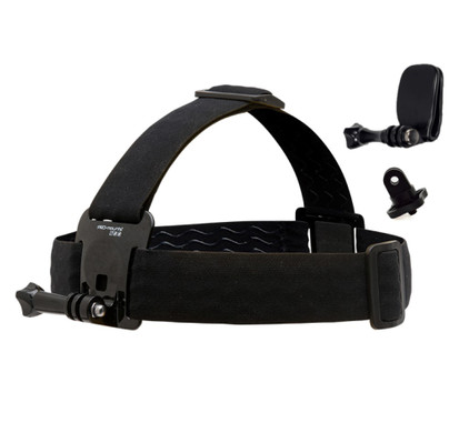 PRO-mounts Head Strap Mount SE: incl Quick Clip & Camera Adapter