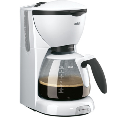 Braun CafeHouse Pure Aroma Deluxe KF520 Wit