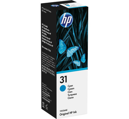 HP 31 Cyaan (1VU26AE)