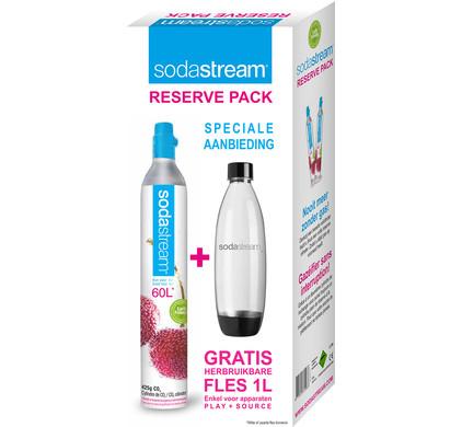 SodaStream Reserve Pack CO2 Cylinder + Bottle Main Image