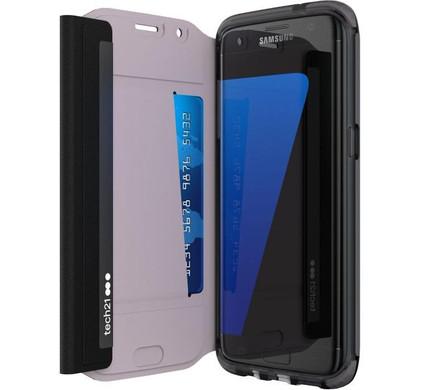 Tech21 Evo Wallet Samsung Galaxy S7 Edge Zwart