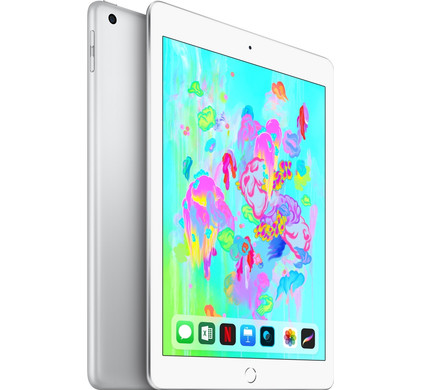 Apple iPad (2018) 128GB Wifi + 4G Silver