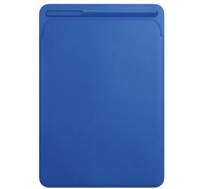 Apple Leren Sleeve iPad Pro 10,5 inch Electric Blue