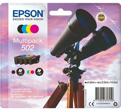 Epson 502 4-Kleuren Pack (C13T02V64010)
