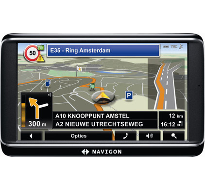 Navigon 70 Premium + Tas + Thuislader