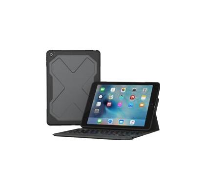 ZAGG Rugged Messenger 7 Col iPad (2017) Toetsenbord Hoes AZERTY