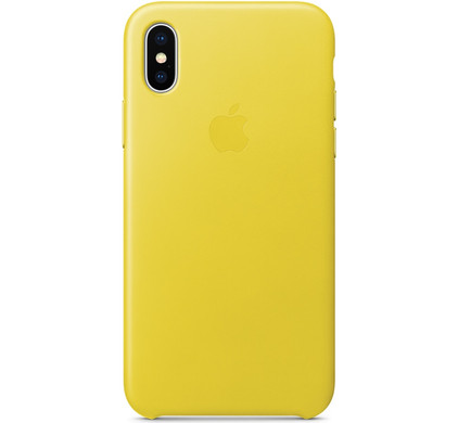 coque iphone x apple cuir