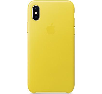 coque iphone x cuir noir apple