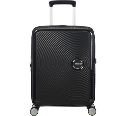 American Tourister Soundbox Expandable Spinner 55cm Bass Black