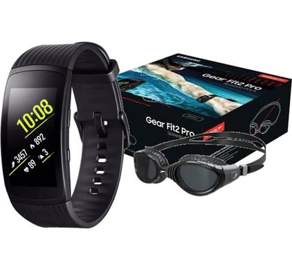 Samsung Gear Fit 2 Pro Bundel - L