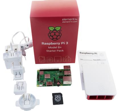 b811f399ffb99c Kit de démarrage Raspberry Pi 3 Model B+ - Coolblue - avant 23 59 ...
