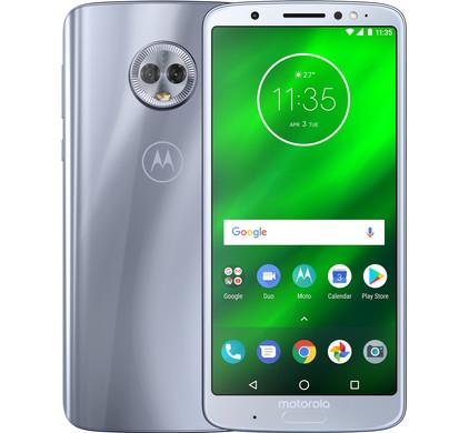 Motorola Moto G6 Plus Argent