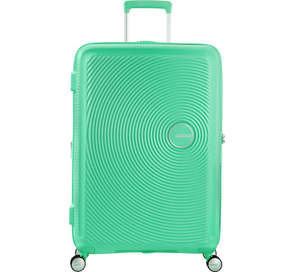 American Tourister Soundbox Expandable Spinner 67cm Deep Mint