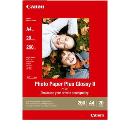 Canon PP-201 Glossy Plus Fotopapier 20 Vellen A4