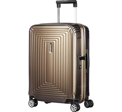Samsonite Neopulse Spinner 55/23cm Metallic Sand