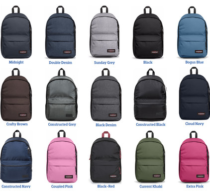 Eastpak Back To Work Midnight